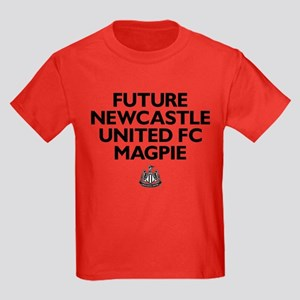 Future Newcastle United FC Magpi Kids Dark T-Shirt