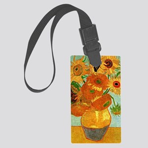 Van Gogh - Still Life Vase with  Large Luggage Tag