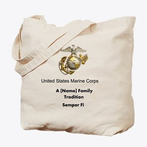 USMC Family Tradition Tote Bag