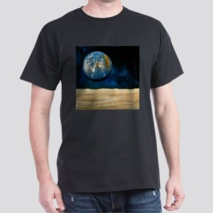 Artwork of the Earth as seen from the Moon - T-Shi