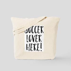 Soccer Lover Tote Bag