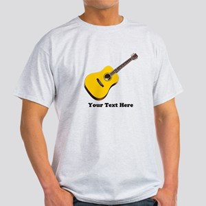 Guitar Personalized Light T-Shirt