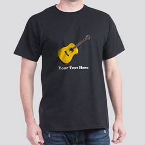 Guitar Personalized Dark T-Shirt