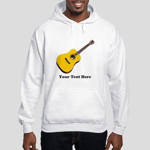 Guitar Personalized Hooded Sweatshirt