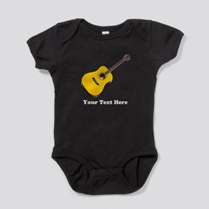 Guitar Personalized Baby Bodysuit