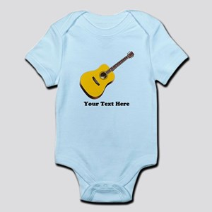 Guitar Personalized Infant Bodysuit