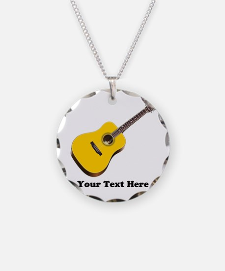 Guitar Personalized Necklace
