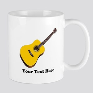 Guitar Personalized 11 oz Ceramic Mug