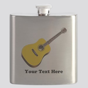 Guitar Personalized Flask