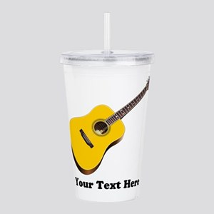 Guitar Personalized Acrylic Double-wall Tumbler