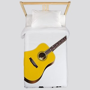 Guitar Personalized Twin Duvet Cover