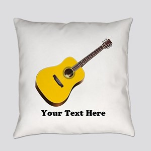 Guitar Personalized Everyday Pillow