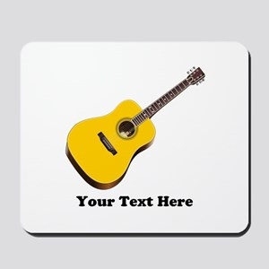 Guitar Personalized Mousepad