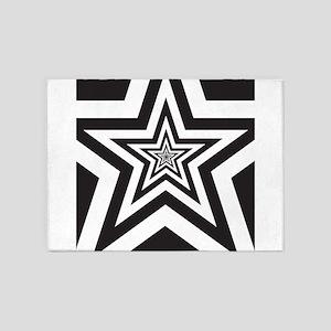 Stars 5'x7'Area Rug