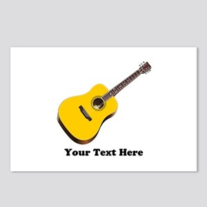 Guitar Personalized Postcards (Package of 8)