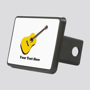 Guitar Personalized Rectangular Hitch Cover