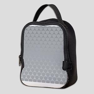 Gradient Pattern Neoprene Lunch Bag