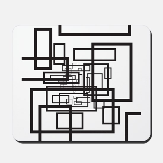 Modern Rectangles Mousepad