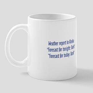 Alaska Weather Mug