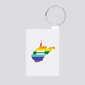 West Virginia equality Keychains