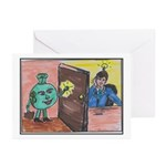 Opportunity Knocks Greeting Cards (Pk of 10)