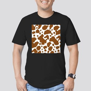 Brown Spot Pattern T-Shirt