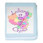 Luliang China baby blanket