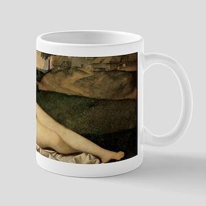 Sleeping Venus (by Giorgione) Mugs