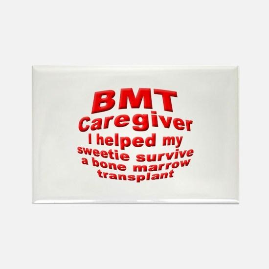 BMT Caregiver Rectangle Magnet