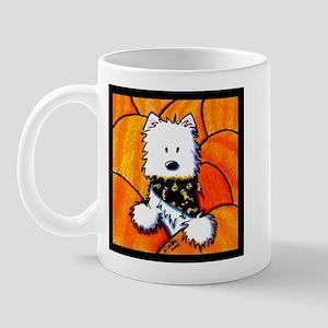 Pumpkin Patch Westie Mug