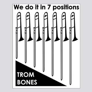 Trombone T-Shirt Front Posters