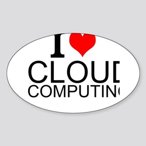 I Love Cloud Computing Sticker