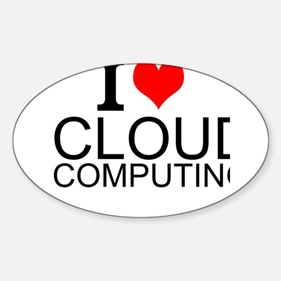 I Love Cloud Computing Decal