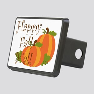 Happy Fall Y'all Rectangular Hitch Cover