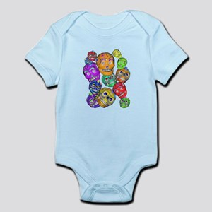 Calaveras Pequenas Body Suit