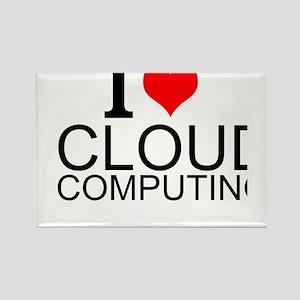 I Love Cloud Computing Magnets