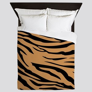 Tiger Stripes Queen Duvet