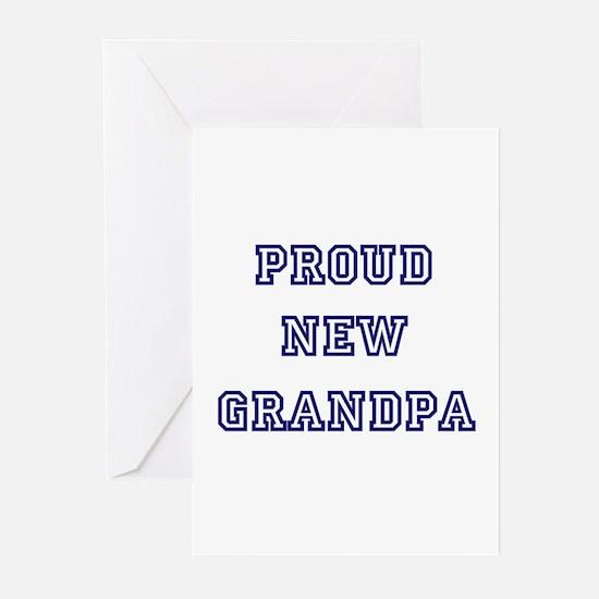 Proud New Grandpa Greeting Cards (Pk of 10)