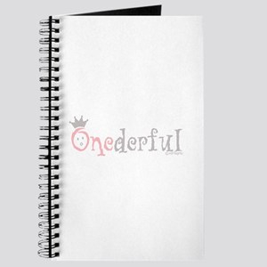 Onederful (girl) Journal