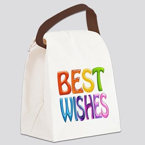 Best Wishes Canvas Lunch Bag