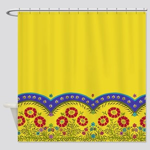 FrenchProvincialShower_curtain Shower Curtain