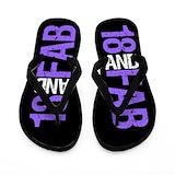 18th birthday girl Flip Flops