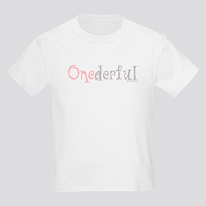 Onederful (girl) Kids T-Shirt