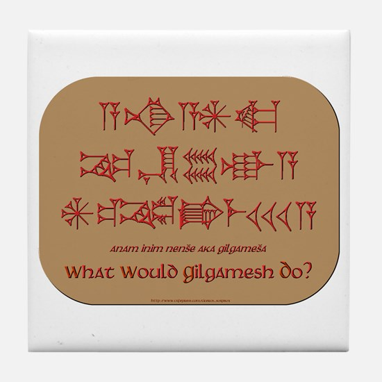 What Would Gilgamesh Do? Tile Coaster