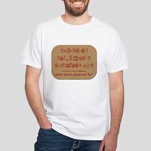 What Would Gilgamesh Do? White T-Shirt