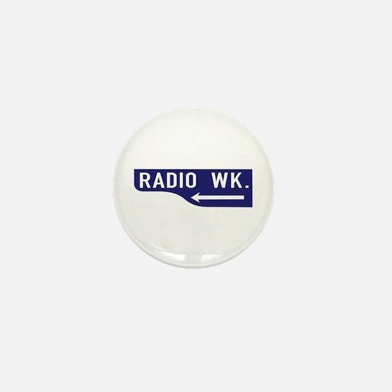 Radio Wk., Los Angeles - USA Mini Button