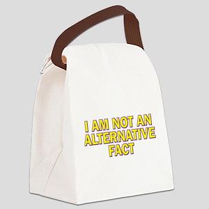 I Am Not An Alternative Fact Canvas Lunch Bag