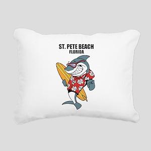 St. Pete Beach, Florida Rectangular Canvas Pillow