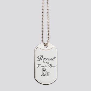 Rescued Dog Dog Tags