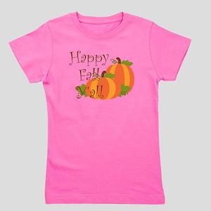 Happy Fall Y'all Girl's Tee